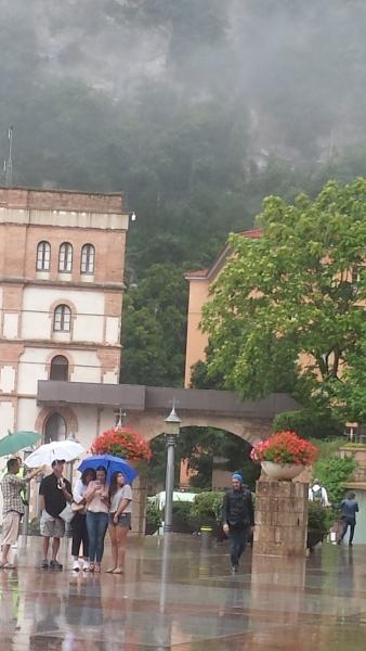 Touring Montserrat Monastery