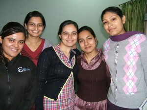 Graduate Students at Baba Farid College of Nursing, Faridkot, India