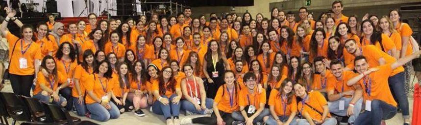 Student Volunteers at ICN Congress. Photo credit: ICN